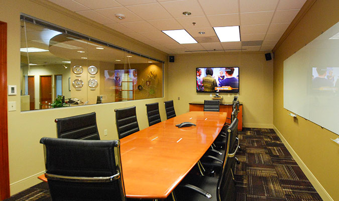 The Rizzo Law Firm Inner Office