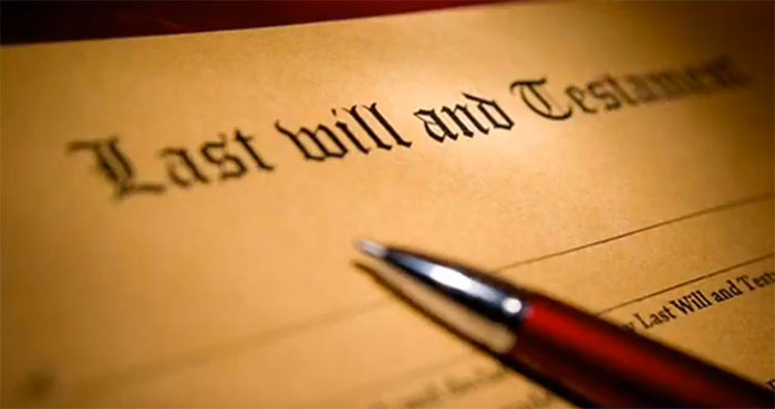 last will and testament probate